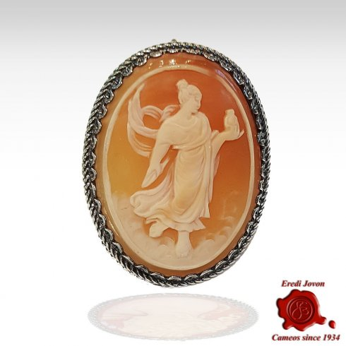 Pandora Cameo Engraved by Hand