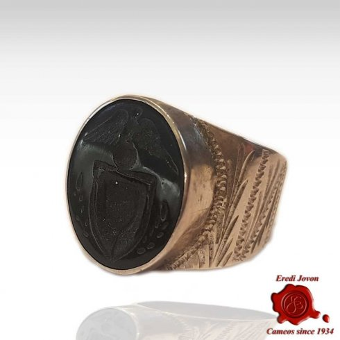 Intaglio Seal Ring Silver