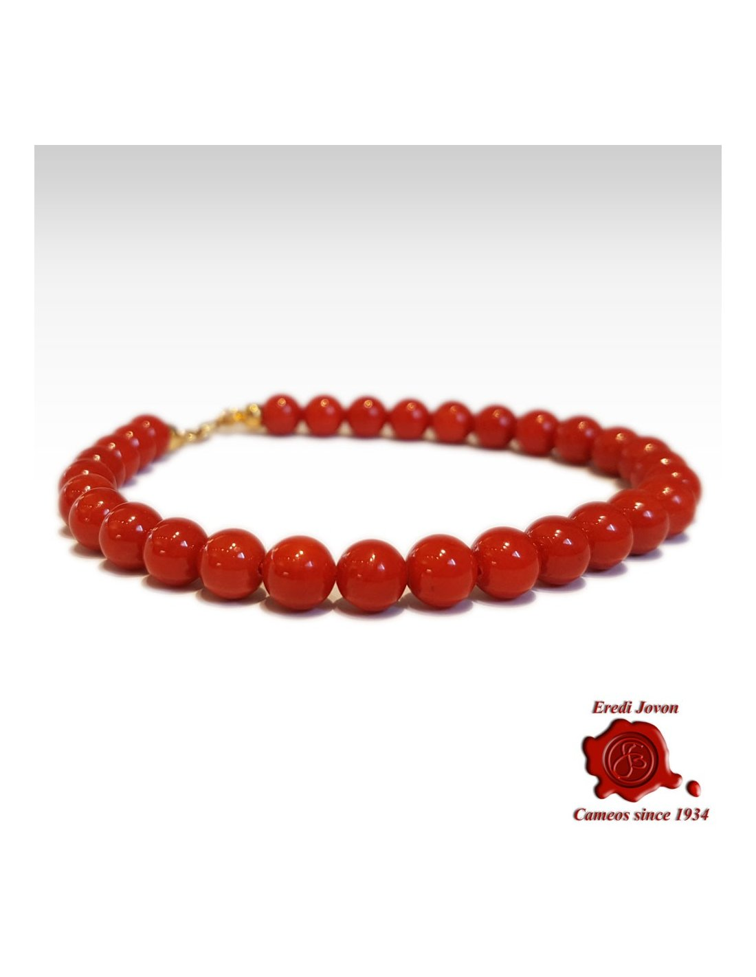 Coral beads bracelet