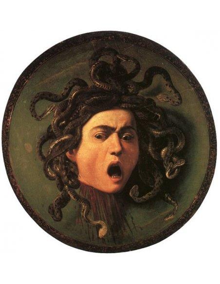 Spilla Cammeo Medusa Argento