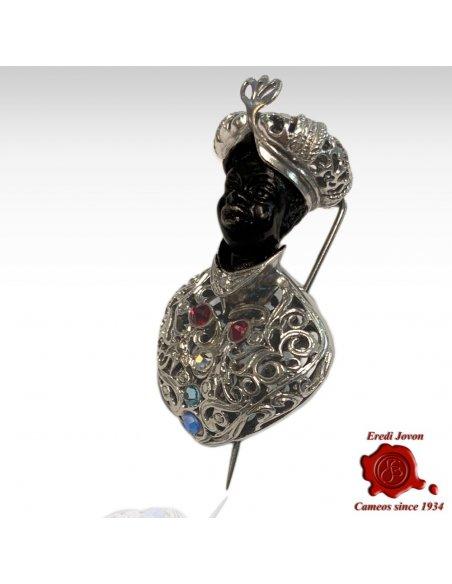 Blackamoor Antique Sale Silver