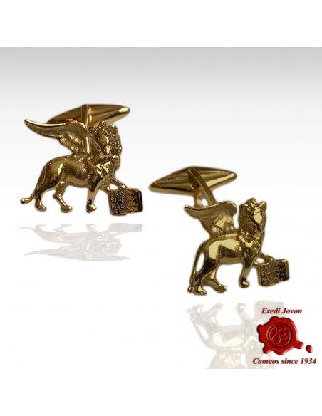 Gemelli Leone Veneziano Oro