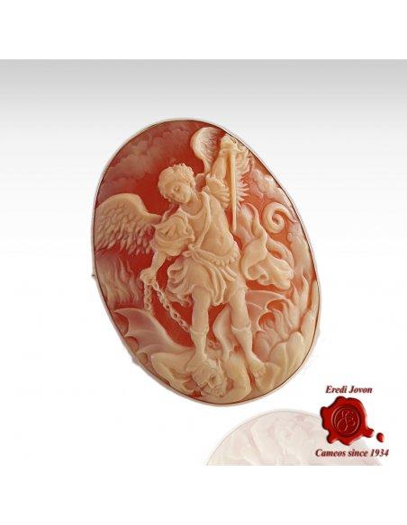 San Michele e il Drago Cammeo Oro
