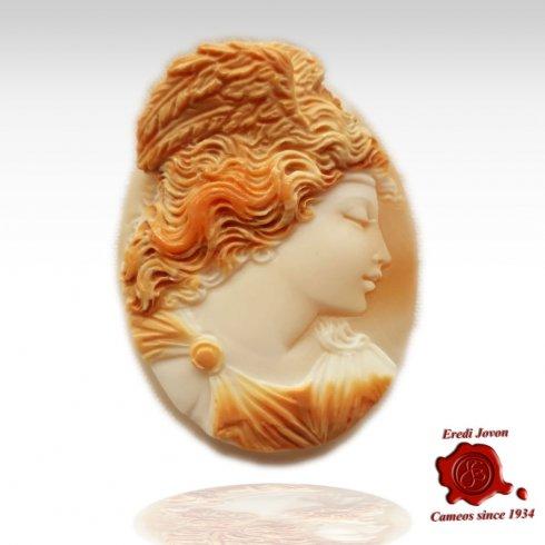 Winged Victory Mythological Greek Cameo