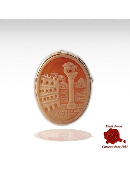 Shell Italian cameo brooch for Sale Prices