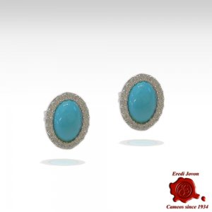 Earrings Turquoise and...