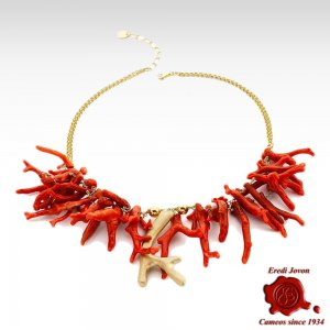 Red Coral Branch and Golden...