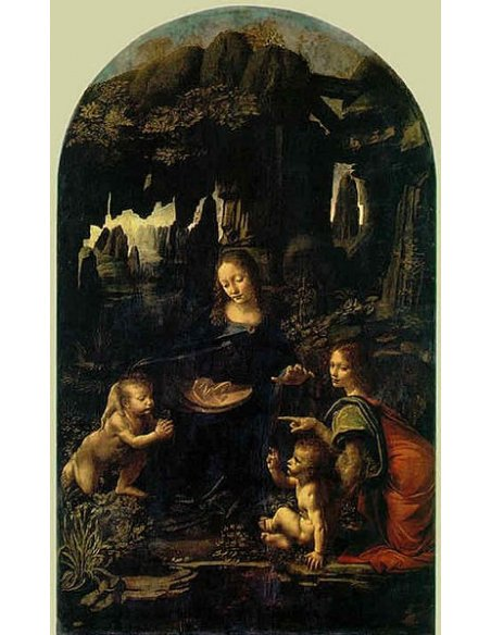Vergine Maria Orecchini Cammeo