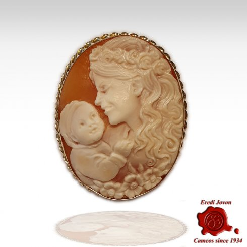 Maternità Cammeo Tradizionale in Oro