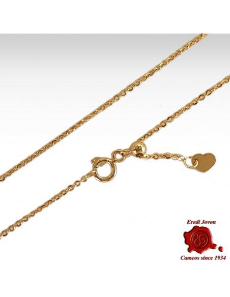 Adjustable Chain Gold Venetian Design