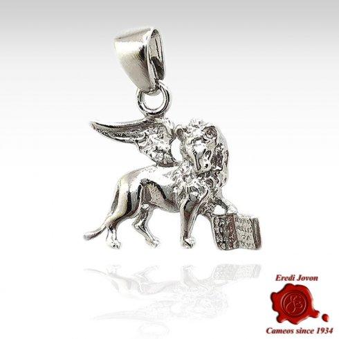 Saint Mark Lion 925% Silver Charm