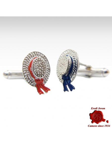 Venetian Gondolier Hat Cuffs Silver