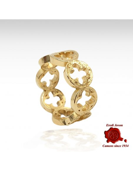 Palace of the Doges Ring Gold
