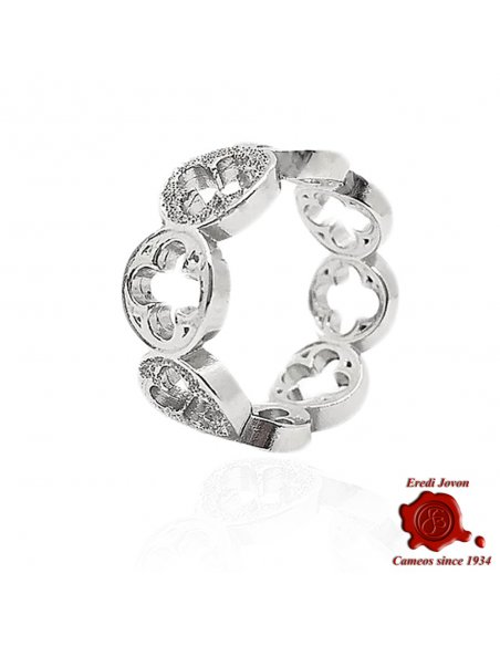 Duke Palace Ring in Silver