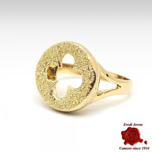 Venetian Seal Ring in Gold