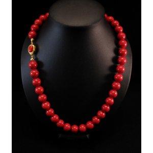 Collana Corallo Rosso Perle