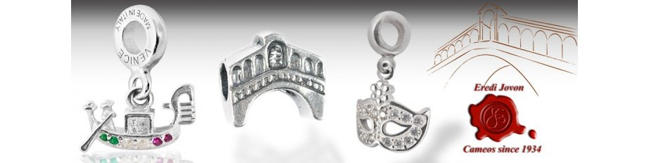 Pandora Compatible Italian Charms in Silver for your Luck | Buy Online