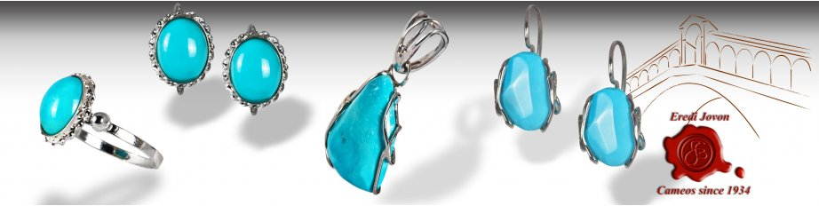 Turquoise Jewelry Silver Gold Ring Earrings