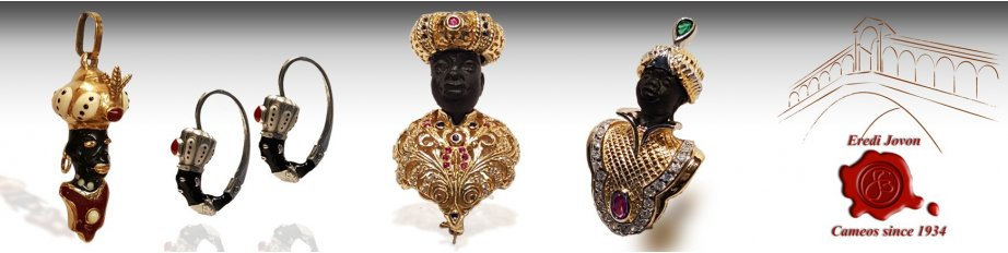 Blackamoor Jewelry Earrings Brooches Pendant Antique For Sale