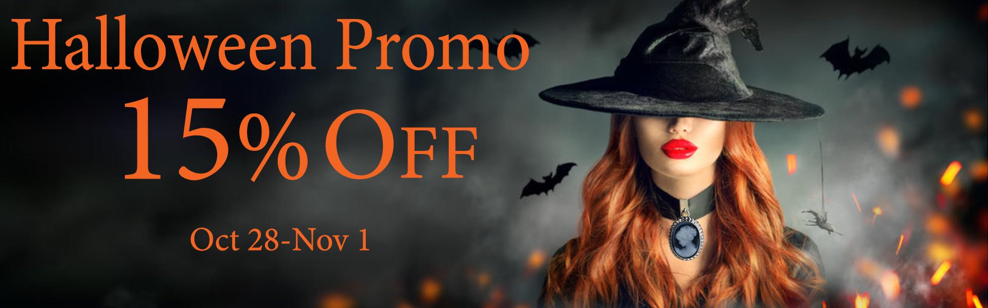 Halloween promo