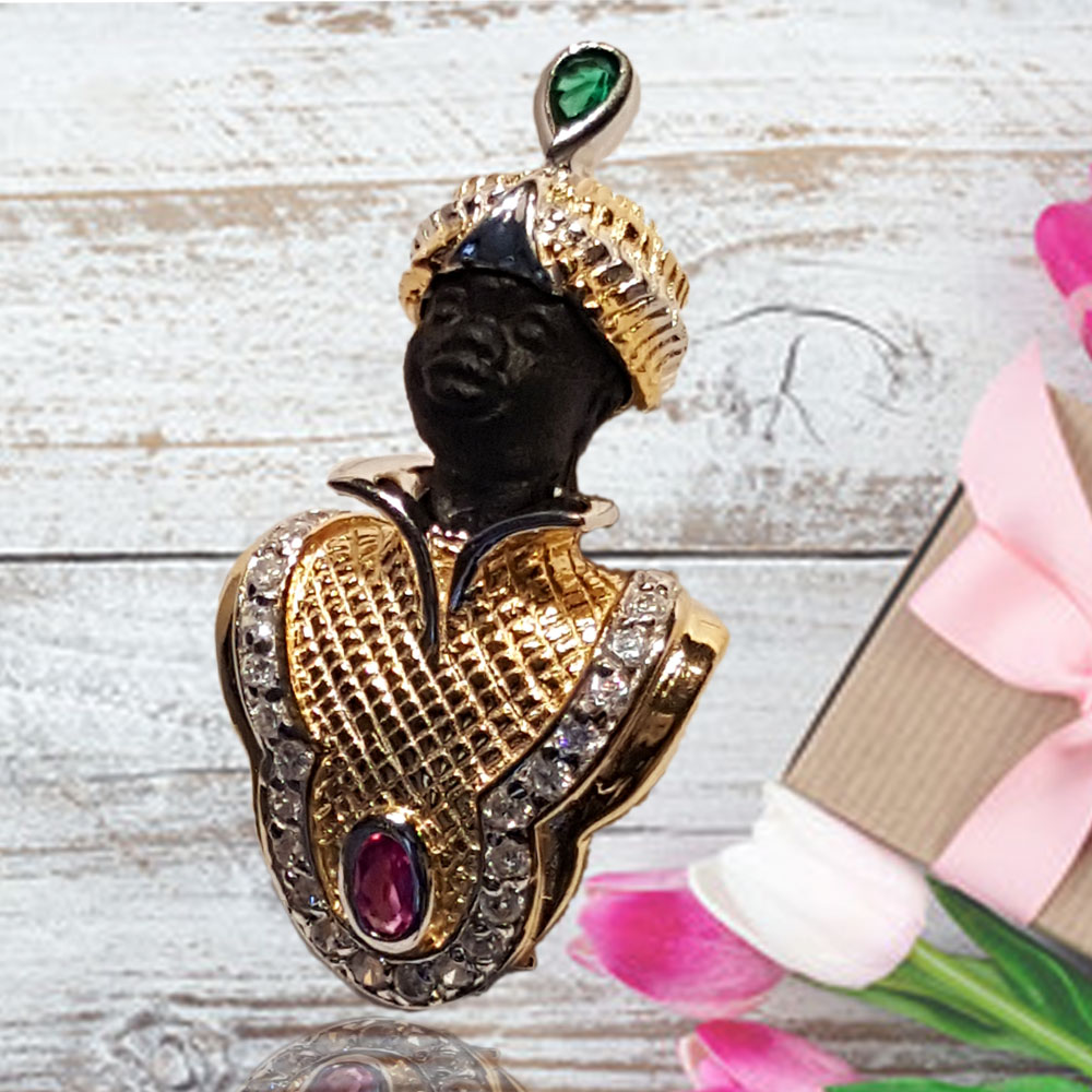 Blackamoor jewelry