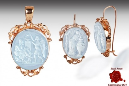Intaglio Jewelry: Venetian Glass in a Cameo
