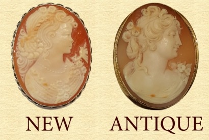 How to age and apprise antique Cameos